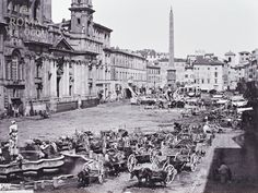 Piazza Navona (1865 ca.)