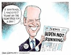 Dave Granlund on Joe Biden deciding not to run for president. #biden #trump