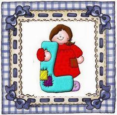 Alfabeto country de niños. | Oh my Alfabetos!