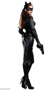 Anne Hathaway as Catwoman in Batman