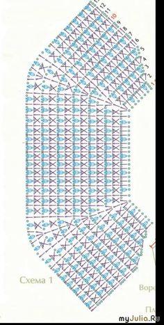 Crochet Collar Pattern, Crochet Doily Diagram, Crochet Yoke, Crochet Stitches Patterns, Crochet Blouse, Crochet Doilies, Crochet Flowers, Crochet Needles, Crochet Slippers