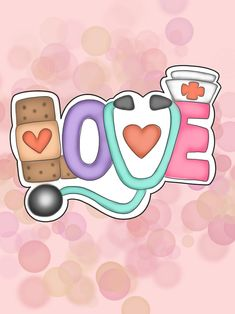 Custom Cookie Cutters, Custom Cookies, Medical Wallpaper, Nurse Art, Image Clipart, Nurse Quotes, Cookie Designs, Cute Images, Painted Rocks