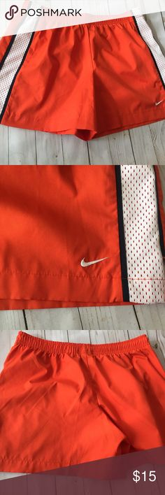 """Size Small Nike Workout Running Gym Shorts New without tags. Size small. Just shy of 14"""" long. Adjustable waist. Nike Shorts"""