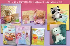 Hallmark (Image for illustration purposes. See prize description for an accurate list of the ultimate storytime kit contents)