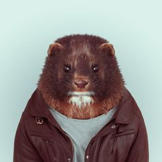MINK by Yago Partal for ZOO PORTRAITS