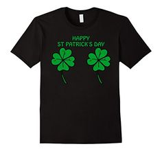 Clover Bra T-shirt For Patrick's Day