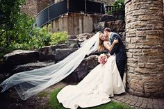 Love the dress and the picture, especially with the cathedral veil