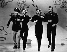 You may know Vera Ellen as the beautiful Blonde dancer in White Christmas but did you know she was also a Rockette?    Vera started dancing as a child and turned professional before the age of 13.