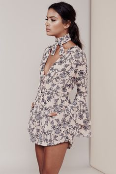Dear Diary, today I fell in love with the perfect printed romper. Keep your passport full of stamps and your suitcase full of chiffon crushes with the help o...