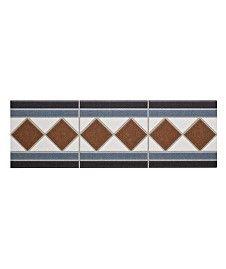 Grosvenor� Border Black/Blue, Brown/Blue & Beige/Blue Tile