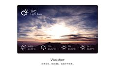Cool weather UI for Puncia G7