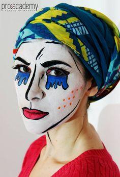 Prace kursantek #school #makeup #art&fun