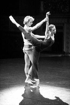 """Kristina Kretova and Semion Chudin rehearsing for """"Giselle"""" /Bolshoi Ballet /photo by Nikolay Krusser"""