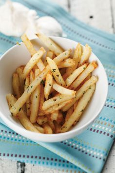 Garlic Fries inspired by ballpark stadium food from French Fries by Zac Williams