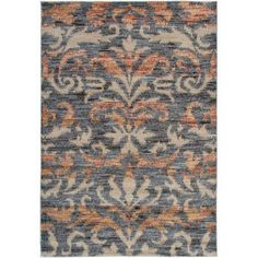 Rizzy Home Bay Side Power-Loomed Area Rug 3 Ft. 3 In. X 5 Ft. 3 In. Blue Model BYSBS359600333353