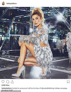 Justin Bieber calls his wife Hailey Baldwin 'hot' Hailey Baldwin, Stephen Baldwin, Justin Bieber, Photomontage, Editorial Magazine, Estilo Cool, St. Patricks Day, Beauty And The Beat, Hot Poses
