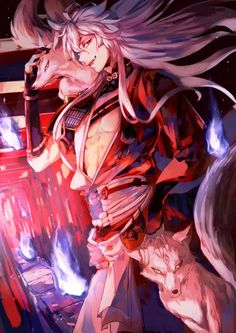 -blushes- Where are we going? Touken Ranbu, Manga Boy, Anime Manga, Anime Art, Cute Anime Guys, Hot Anime Boy, Anime Boys, Inuyasha, Manga Japan