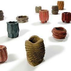 Man and Machine Working Together: Pressed Objects by Floris Wubben - Design Milk Africa Craft, 3d Printer Designs, Design Maker, Keramik Vase, Ceramic Design, Everyday Objects, Ceramic Clay, Clay Art, Art And Architecture