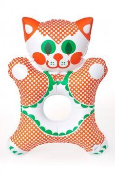Nafukovací dětská hračka, Micinka, líc, Fatra, libuše niklová
