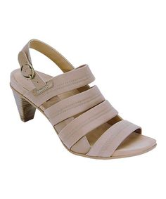 4248307ba915 Take a look at this Tan Veronica Sandal by Essence by Aetrex on  zulily  today