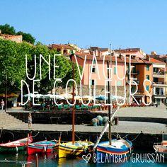 Des champs de lavande à perte de vue à ses ports colorés, le #Languedoc Roussillon vous offre une variété de paysages à découvrir sans hésitation. Ici, le petit port de #Collioure. #LanguedocRoussillon #Belambra
