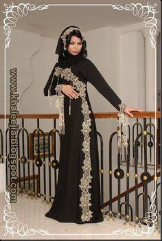 العبايات الخليجية الساحرة 2014 | تصميمات عبايات خليجية 2014