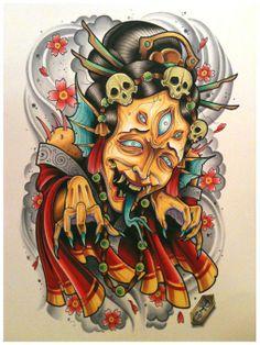 She wants your soul! By David Tevenal.