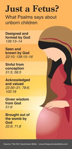 NIV Quick View Bible » Just a Fetus> - Psalms