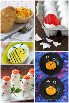 Love these adorable egg recipes for kids!