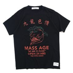 MASS AGE Tee Black | NEW ARRIVAL を通販 | SUPPLY TOKYO online store