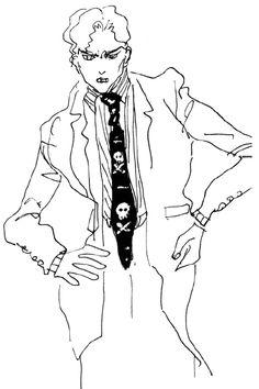 Araki Doodles - Part 4 - Diamond is Unbreakable