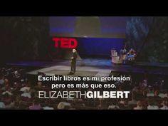 El genio de la creatividad 1/2: Elizabeth Gilbert en TED 2009 (subtitulado en español)