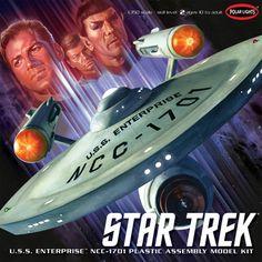 Star Trek Model Kit Box Art