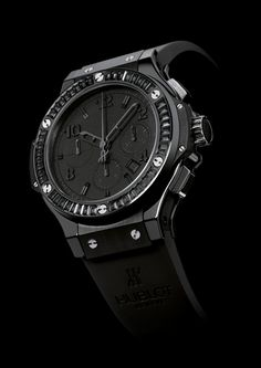 hublot... all black everything