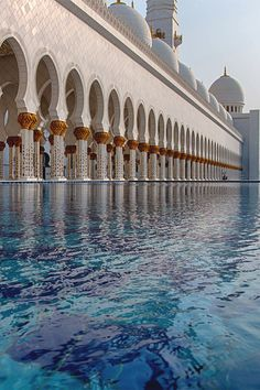 "italian-luxury: "" Sheikh Zayed Mosque Abu Dhabi """