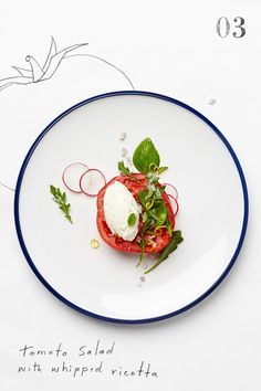 """Summer Tomatoes Three Ways"" (via Anthropologie)."