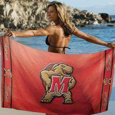 Maryland Terrapins Beach Towel