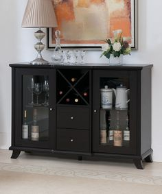 Cappuccino Mezzina Dining Buffet Cabinet