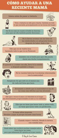 Nos ha encantado esa lista de consejos para mamás primerizas que hemos encontrado en el Blog de Sarai Llamas (http://saraillamas.blogspot.com.es/) ¿Algún consejo más?