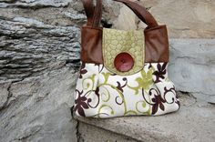 Handbag Purse Everyday Bag  Key Lime by cayennepeppybags on Etsy, $80.00