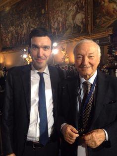 #MaurizioMartina e #AlbertoAngela per #Italia2015 #raiexpo #expoidee #expo2015 #italia #worldfair #firenze