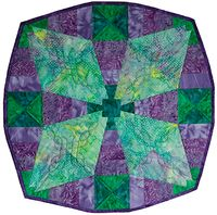 Phillips Fiber Art: Squedge 30 Free Pattern  This fast fun project is a great addition to your Squedge 30