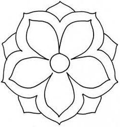 "Oriental Flower 9"""