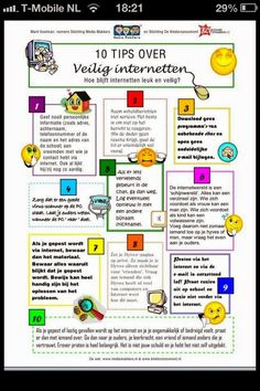 10 tips over veilig internetten 21st Century Learning, 21st Century Skills, Social Media Apps, Social Skills, Safe Internet, Co Teaching, Therapy Worksheets, School Social Work, Media Literacy