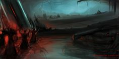 Horror illustration by Biljana Ivanisevic, copyright Rayne Hall.