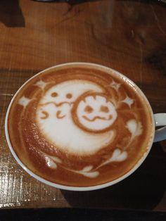 ラテアート ハロウィン Latte Art Halloween