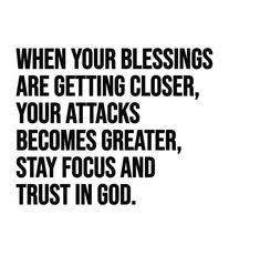 Stay *focused* and trust in God. Prayer Quotes, Bible Verses Quotes, Faith Quotes, Spiritual Quotes, True Quotes, Scriptures, Trust In God Quotes, Godly Quotes, Focus Quotes