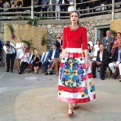 La Dolce Vita at Dolce & Gabbana alta moda, Capri