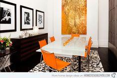 15 Geometrical Dining Room Designs