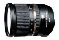 Tamron SP 24-70mm F/2.8 Di VC USD. The world's first full-frame high-speed standard zoom lens with image stabilization.
